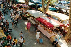 Grand marché de la Croix Rousse