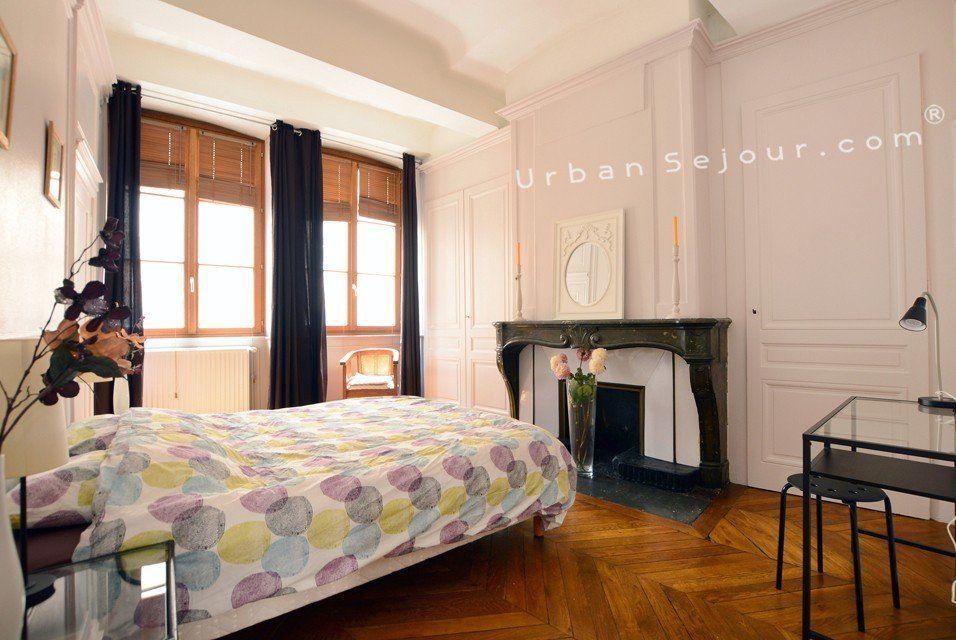 location appartement meubl avec 2 chambres location moyenne ou longue dur e lyon 1. Black Bedroom Furniture Sets. Home Design Ideas