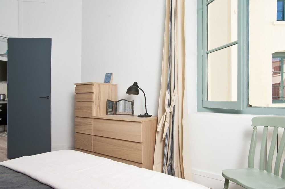 Location appartement meubl avec 1 chambre location saisonni re lyon 1 op ra tolozan for Lyon chambre