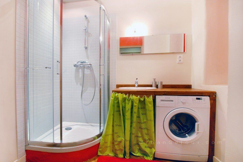 meuble superposition lave linge seche linge maison design bahbe