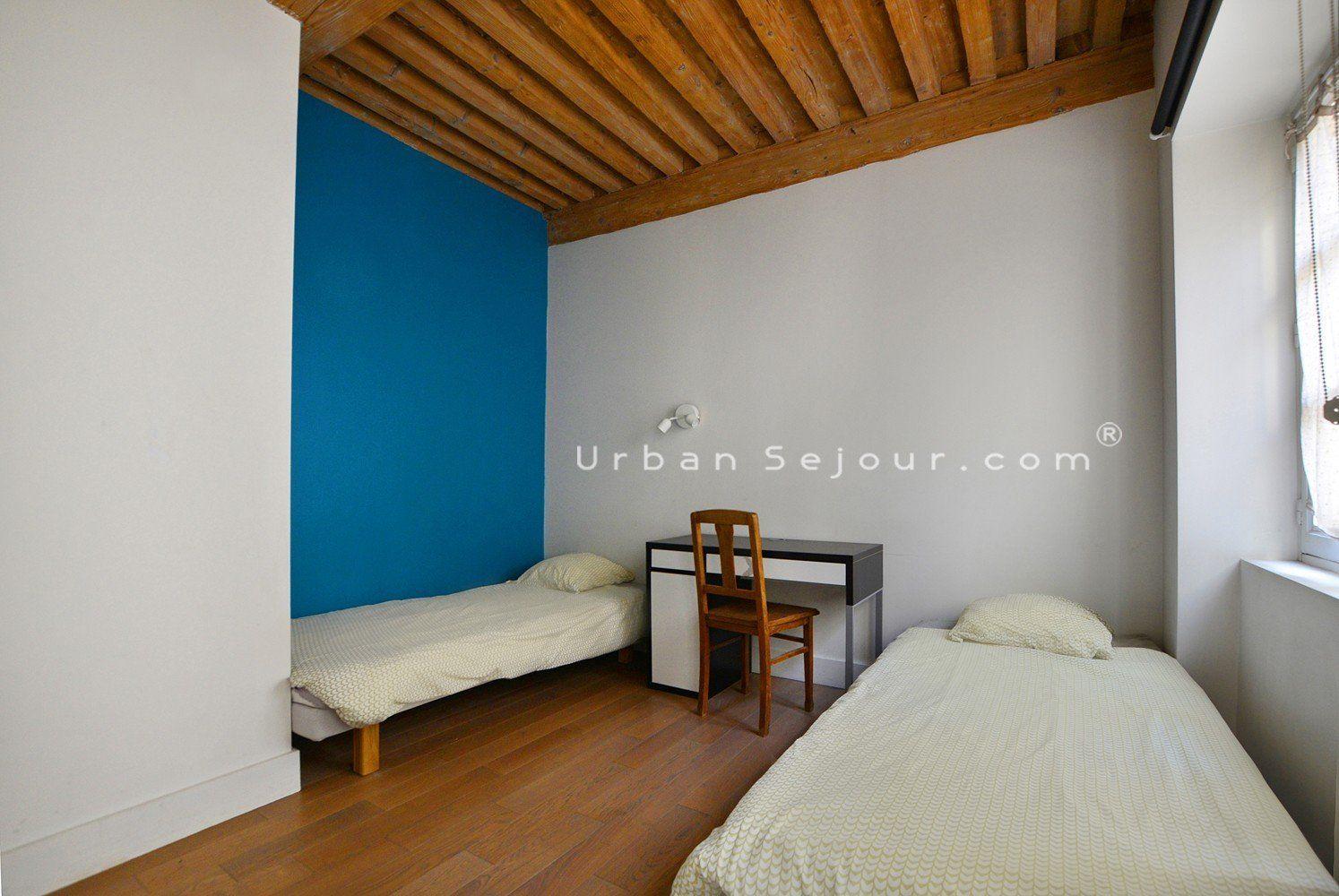 location appartement meubl avec 2 chambres location moyenne ou longue dur e lyon 1 terreaux. Black Bedroom Furniture Sets. Home Design Ideas