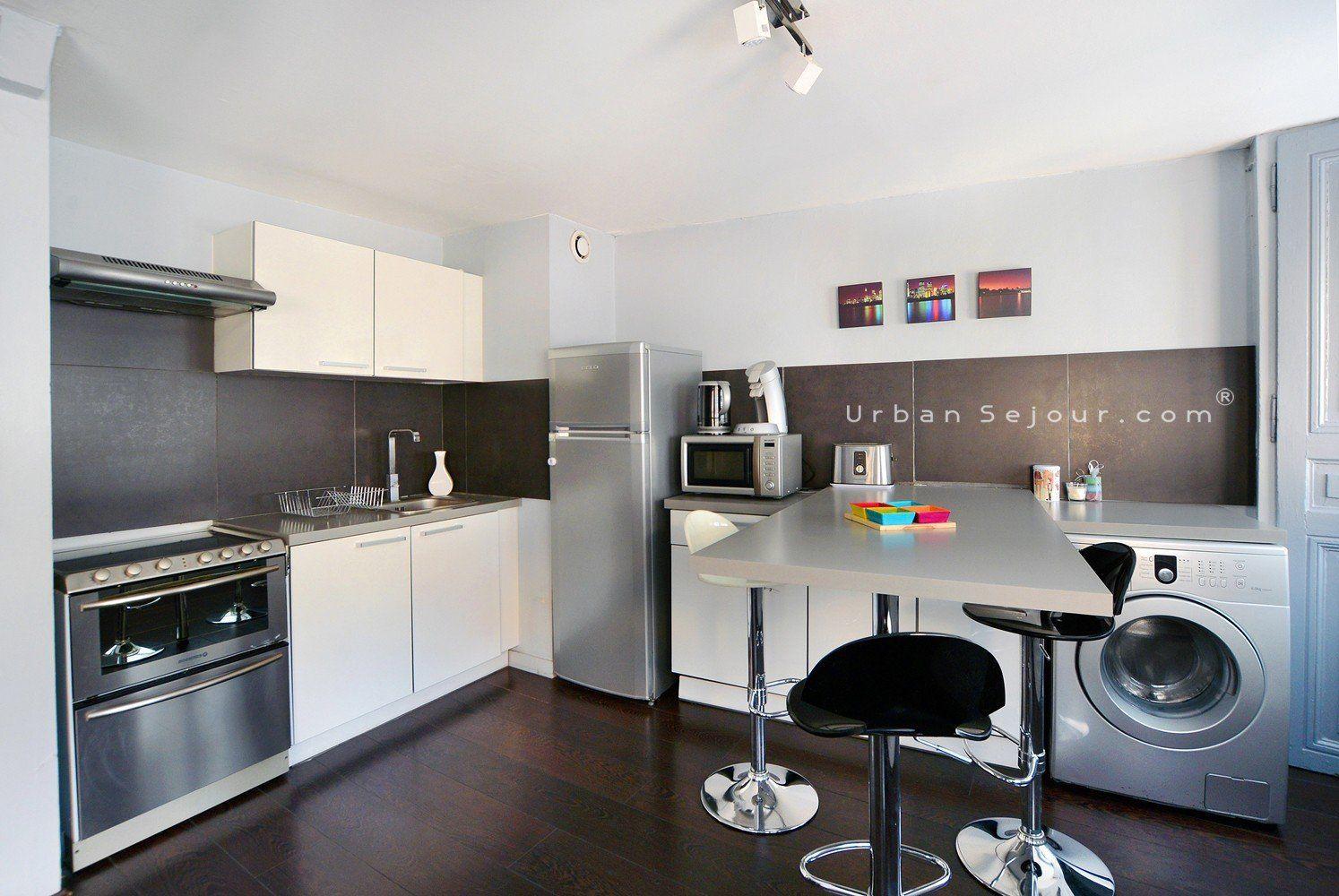 Location appartement meubl avec 1 chambre location for Location studio meuble lyon