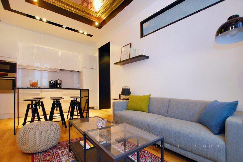 Location appartement meubl avec 2 chambres location saisonni re lyon 2 bellecour gailleton - Location studio meuble lyon 2 ...