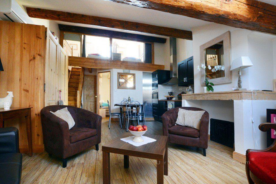 location appartement meubl avec 2 chambres location saisonni re lyon 2 d lice carnot. Black Bedroom Furniture Sets. Home Design Ideas