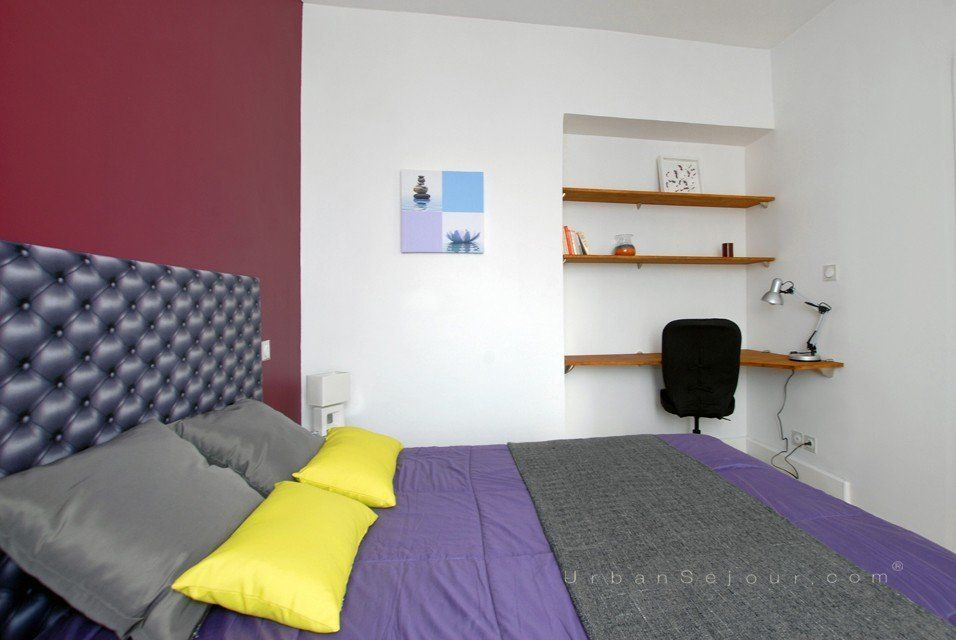 location appartement avec 1 chambre location saisonni re lyon 3 part dieu lafayette. Black Bedroom Furniture Sets. Home Design Ideas