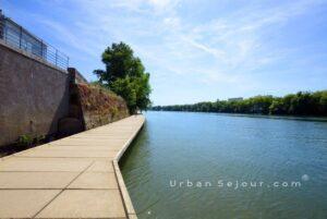 lyon-4-location-saone-lyon-plage-promenade-saone-d