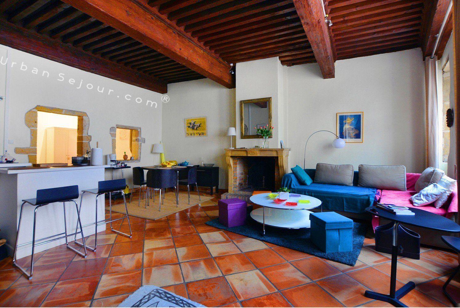 Location appartement meubl avec 1 chambre location saisonni re lyon 5 vieux lyon gourguillon - Location appartement lyon meuble ...