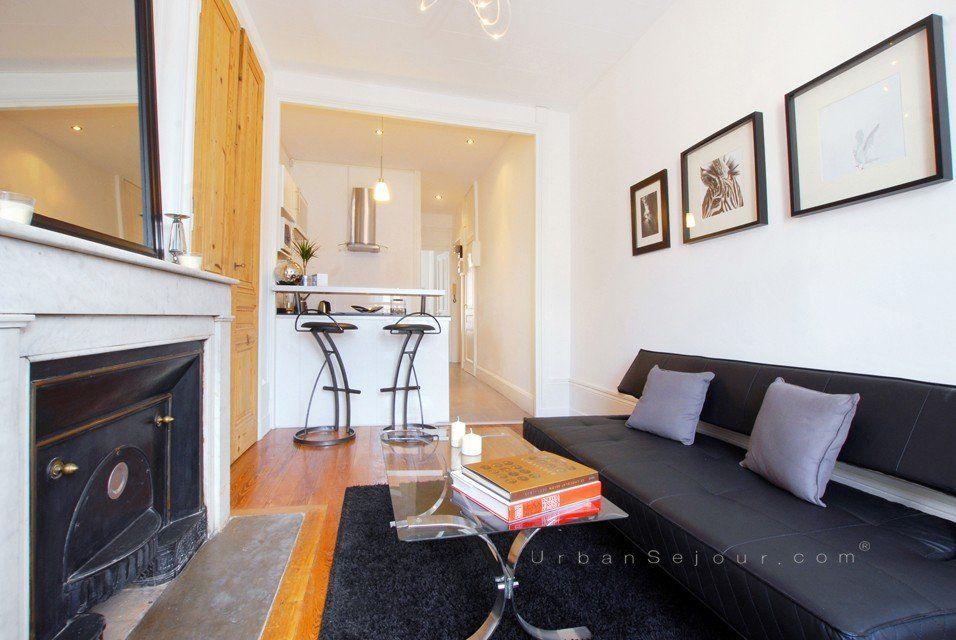 location appartement meuble avec 1 chambre location saisonniere lyon 7 saint joseph universit. Black Bedroom Furniture Sets. Home Design Ideas