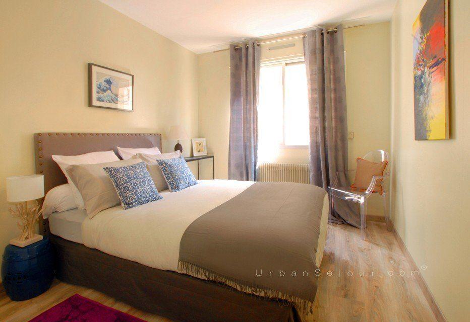 location appartement meubl avec 2 chambres location moyenne ou longue dur e lyon 7. Black Bedroom Furniture Sets. Home Design Ideas