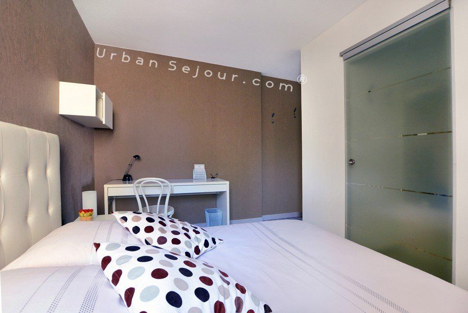 location appartement meubl avec 1 chambre location saisonni re lyon 8 monplaisir lumi re. Black Bedroom Furniture Sets. Home Design Ideas