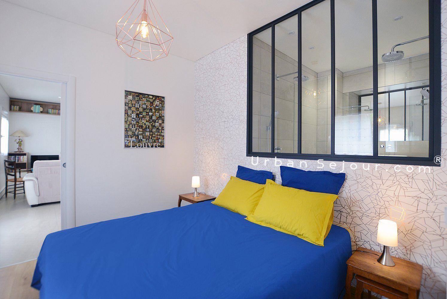 Location appartement meubl avec 1 chambre terrasse et parking location saisonni re lyon 7 for Lyon chambre