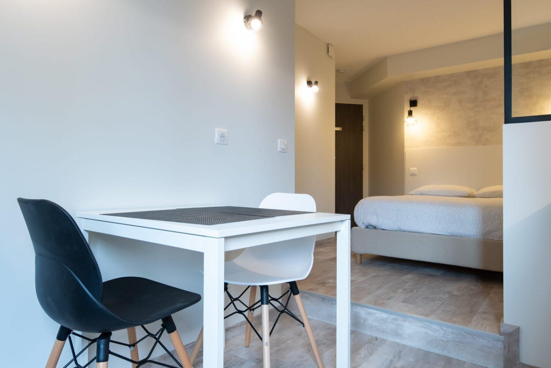 Lyon 7 – Studio Parc Blandan Côté Cour